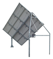 Solar Motor Sun Tracer ST12SLT 1-axis with backstructure for 12 panels (2,16 kWp) without ground screws.