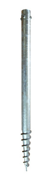 Ground screw 76X1400 L=1400 d=76/60