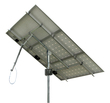 Solar Tracker 1-axis ST40M2V3P w backstr. for 3 pan. / 0115 / ST40M2V3P, without main pole and ground screws.