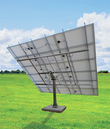 Solar Tracker 2-axis ST54M3S30 w slewing drive for 30 m2  / 0099 / ST54M3S30, without concrete block.