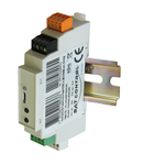 Solar Positioner 2-axis module MICRO, USB-RS485, DIN rail - Solar Positioner MICRO (stand alone positioner) is controlled with Helios Analytics monitoring program / 0436 / POZSOLMICRO