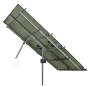 Solar Tracker 1-axis ST40M2V4P w backstr. for 4 pan. / 0104 / ST40M2V4P, without main pole and ground screws.