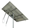 Solar Tracker 2-axis ST44M2V3P w backstr. for 3 pan. / 0121 / ST44M2V3P, without main pole and ground screws.
